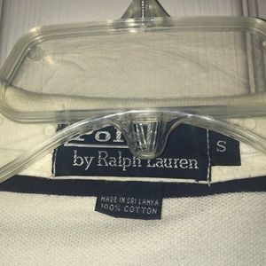 Polo by Ralph Lauren Shirts - White polo By Ralph Lauren with blue stripes